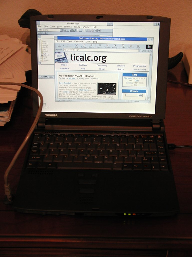 Last Windows 3 1 Computer Located Ticalc Org